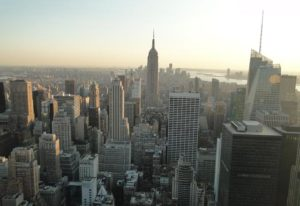 Blick auf Empire State Buliding