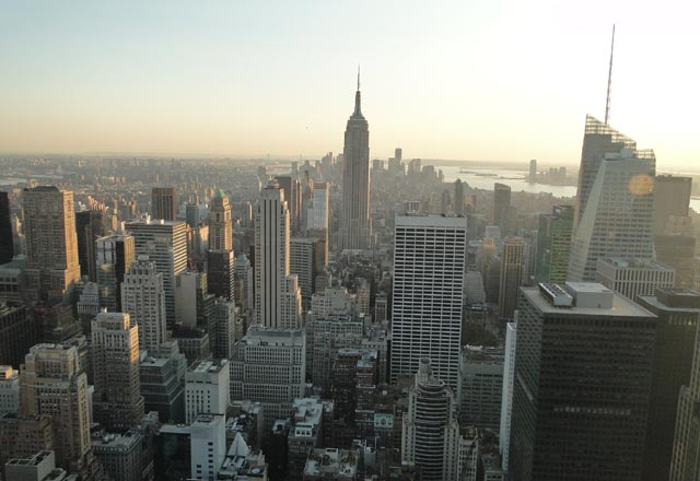 Blick auf Empire State Buliding