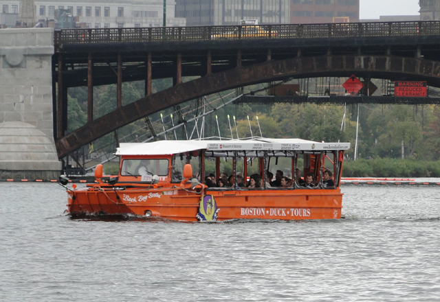 Boston Duck Tours Hafen