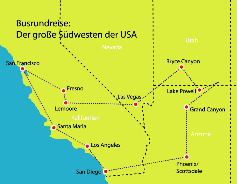 Der große Südwesten der USA