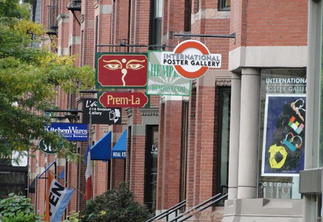 Einkaufsstrasse Boston