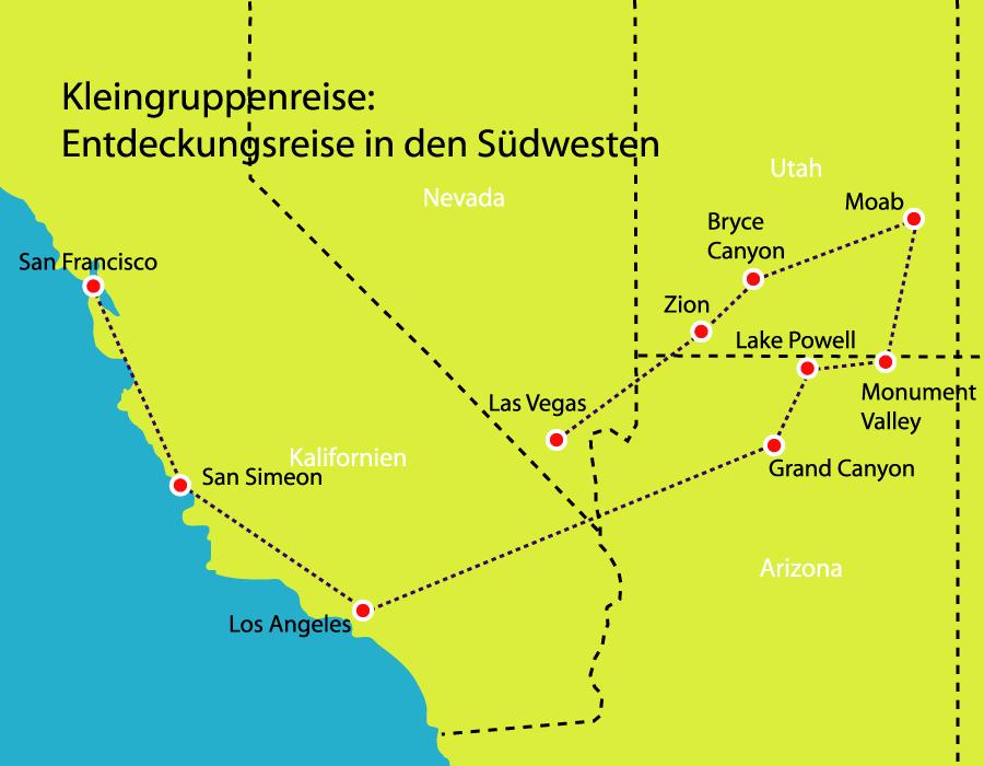 Kleingruppenreise Entdeckungsreise in den Südwesten