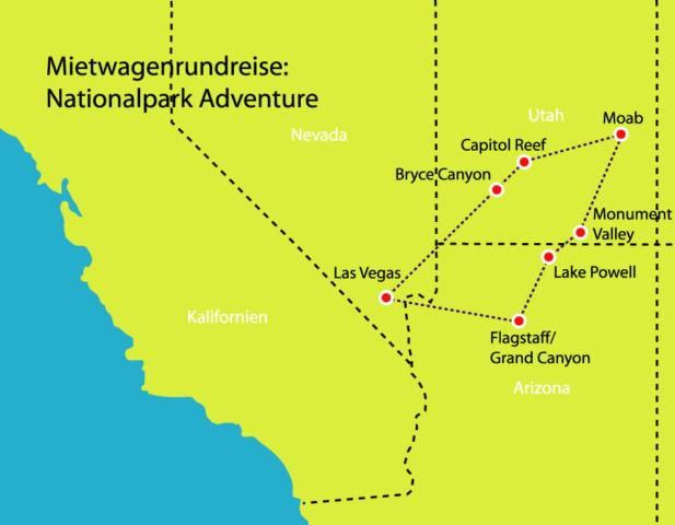 Nationalpark Adventure
