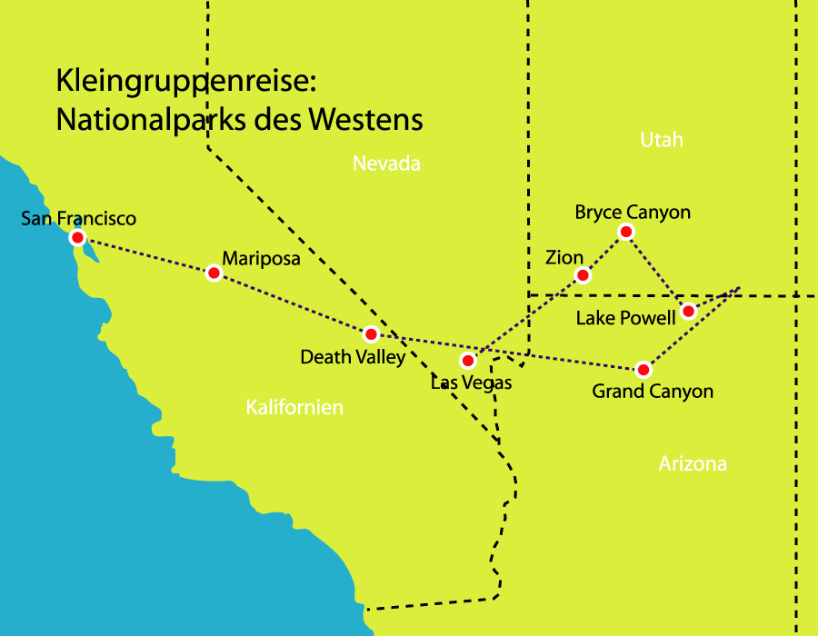 Nationalparks des Westens