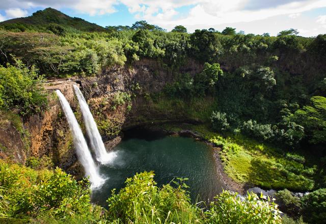 Wasserfall Kauai
