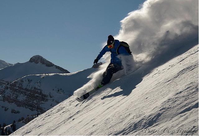 Skifahren in Jackson Hole