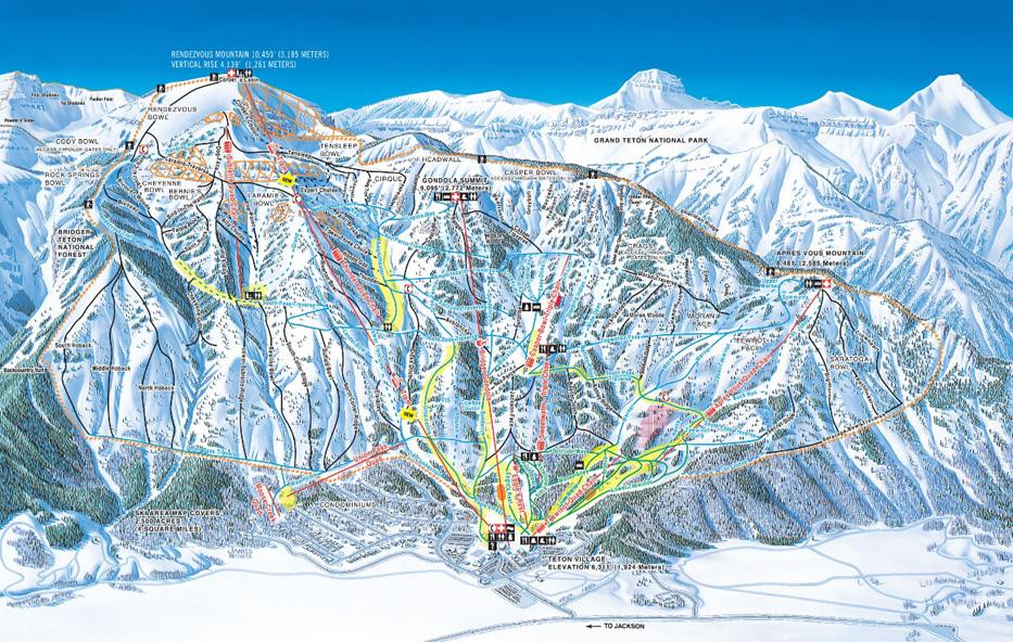 Jackson Hole - Skigebiet