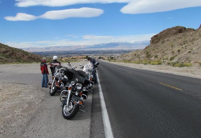 Motorrad Road - Route 66