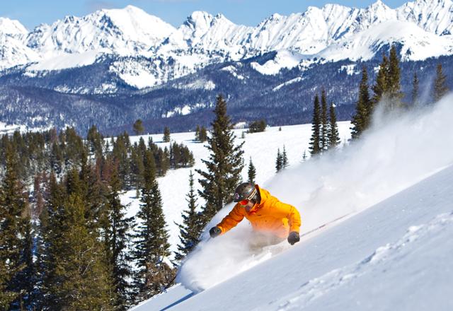 Skifahren in Amerika